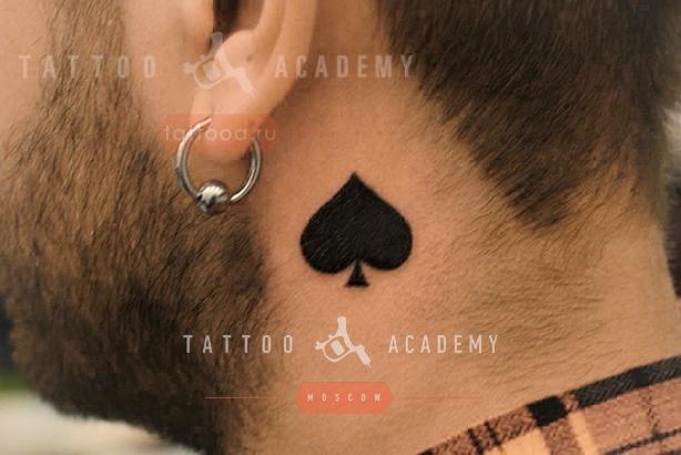 Татуировка масть пик значение